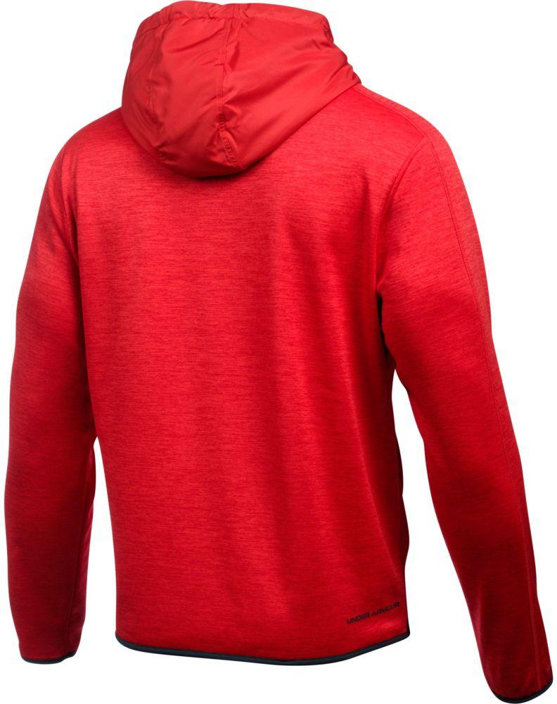 MIKINA UNDER ARMOUR Swacket Insulated PO - červená  be3f8a81f5