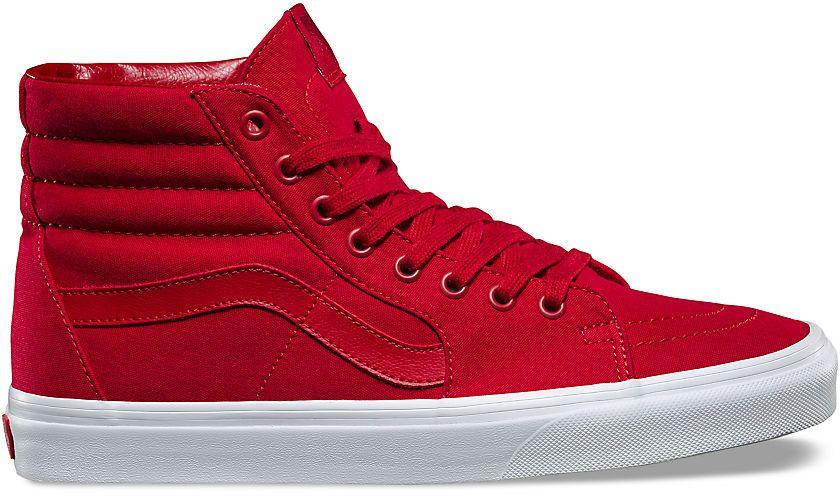 8c008e6ce93 BOTY VANS SK8-HI - červená