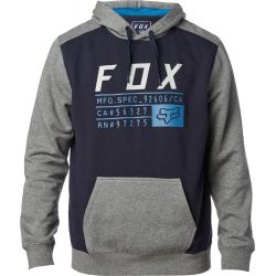 0c05f808fd MIKINA FOX DISTRICT 3 PULLOVER FLEECE - modrá