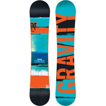 SNOWBOARD GRAVITY CONTRA - modrá