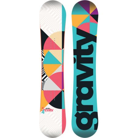 SNOWBOARD GRAVITY TRINITY - bílá