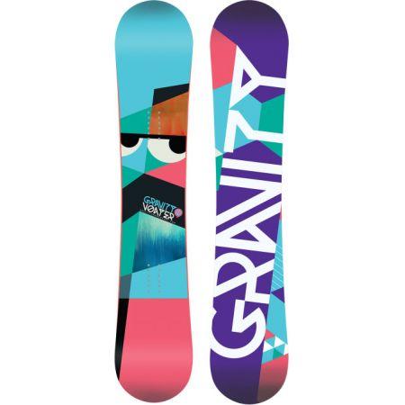 SNOWBOARD GRAVITY VOAYER - tyrkysová