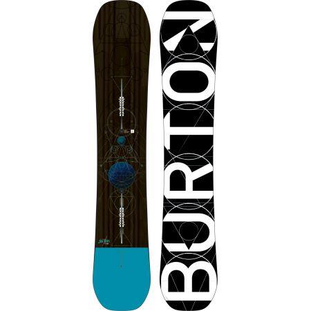 SNOWBOARD BURTON CUSTOM - hnědá