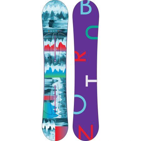 SNOWBOARD BURTON FEATHER WMS 2015 - azurová