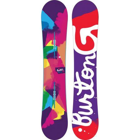 SNOWBOARD BURTON GENIE WMS 2016 - purpurová