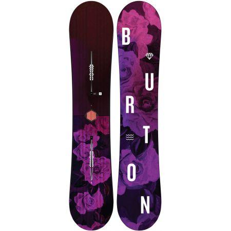 d296e6ff14 SNOWBOARD BURTON STYLUS WMS - vínová