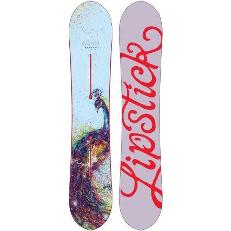 BURTON LIP-STICK WMS SNOWBOARD 2014 - šedá