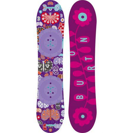 SNOWBOARD BURTON CHICKLET GIRLS 2015 - fialová