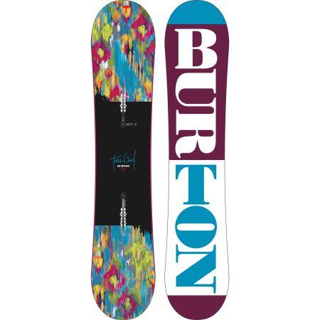 SNOWBOARD BURTON FEELGOOD SMALLS 2015 - azurová
