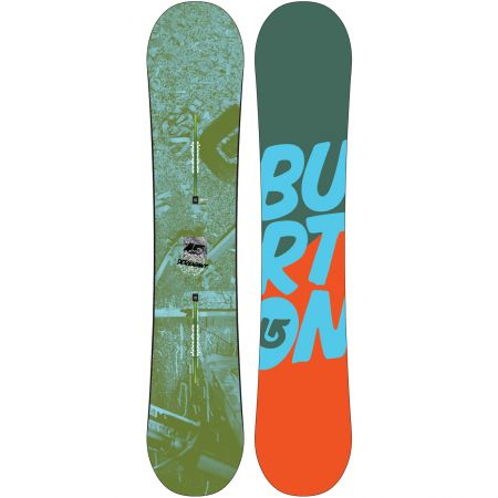 BURTON DESCENDANT SNOWBOARD 2013 - tmavě zelená