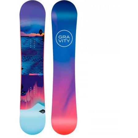 SNOWBOARD GRAVITY VOAYER WMS - modrá