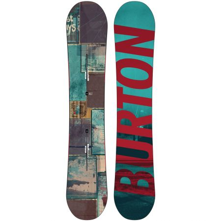 BURTON PROCESS OFF-AXIS SNOWBOARD 2014