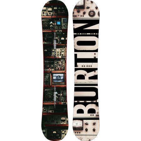SNOWBOARD BURTON NEW NAME BLUNT 2016 - černá