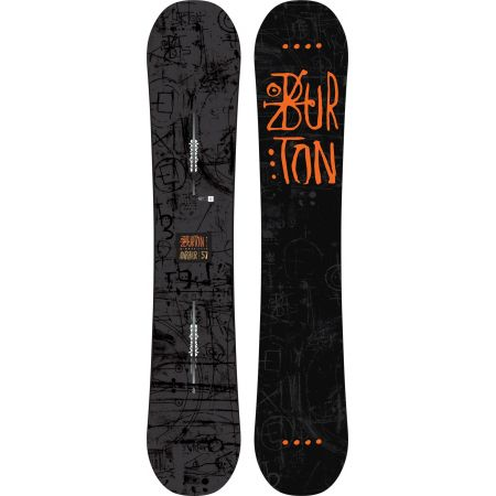SNOWBOARD BURTON AMPLIFIER - černá