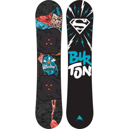 SNOWBOARD BURTON CHOPPER - DC CO KIDS - černá