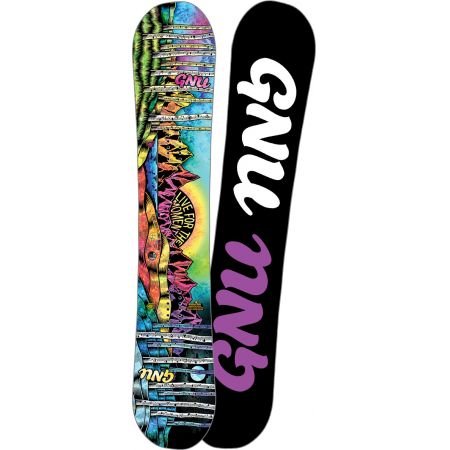 SNOWBOARD GNU ASYM LADIES CHOICE C2X - černá