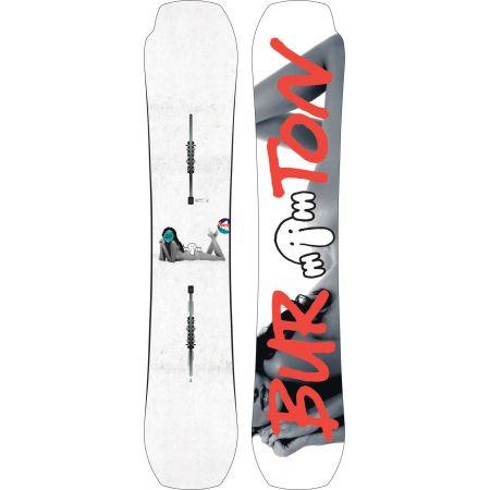 555de9b390 SNOWBOARD BURTON KILROY PROCESS - bílá