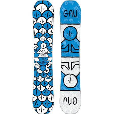 SNOWBOARD GNU ASYM FB HEAD SPACE C3