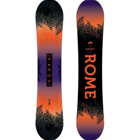 Levně SNOWBOARD ROME HEIST WMS - černá