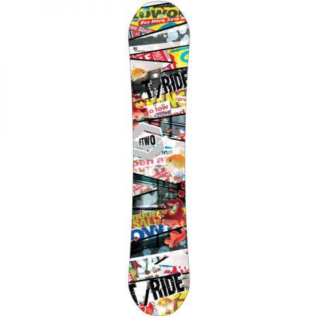 FTWO T-RIDE SNOWBOARD - bílá