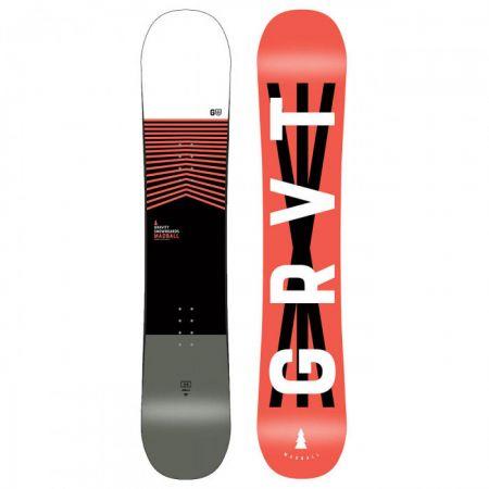SNOWBOARD GRAVITY MADBALL - černá