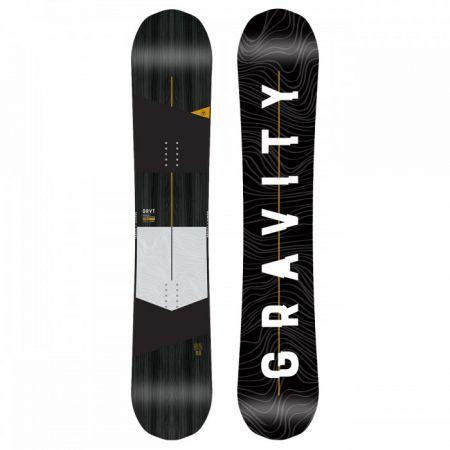 SNOWBOARD GRAVITY SYMBOL - černá
