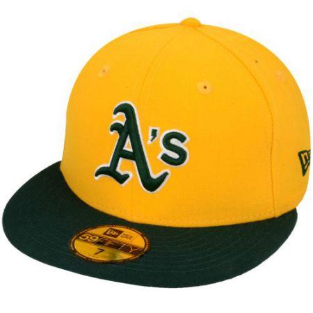 NEW ERA NE5950 MLB REVERSE OAKATH KSILTO - žlutá