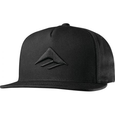 KŠILTOVKA EMERICA Triangle Snapback - černá