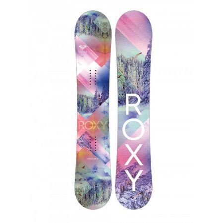 SNOWBOARD ROXY SUGAR 142 Ban - starorůžová