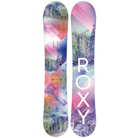 SNOWBOARD ROXY SUGAR 149 BAN - starorůžová