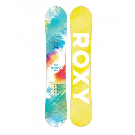 SNOWBOARD ROXY ALLY 143 banana - mořská zeleň