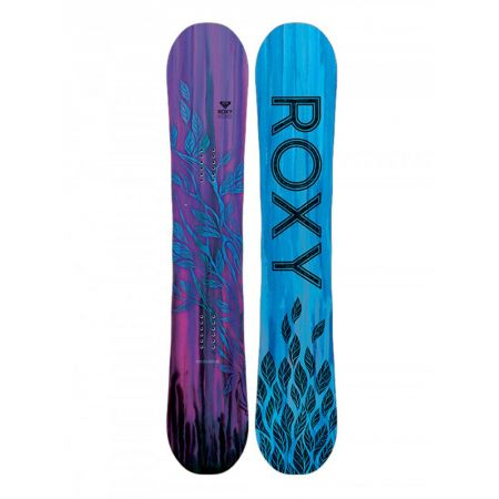 SNOWBOARD ROXY XOXO leaves 145 ban - purpurová