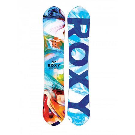 SNOWBOARD ROXY SMOOTHIE 142 EC2 - tyrkysová