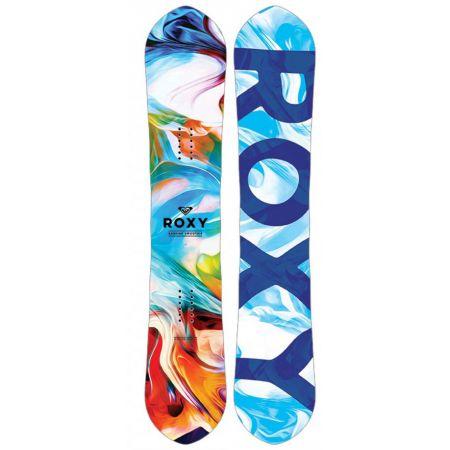 SNOWBOARD ROXY SMOOTHIE 149 EC2 - tyrkysová