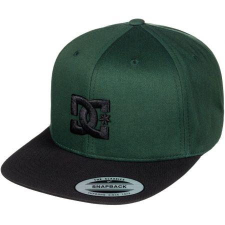 KŠILTOVKA DC SNAPPY - tmavě zelená