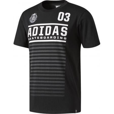 TRIKO ADIDAS FC TEE - černá