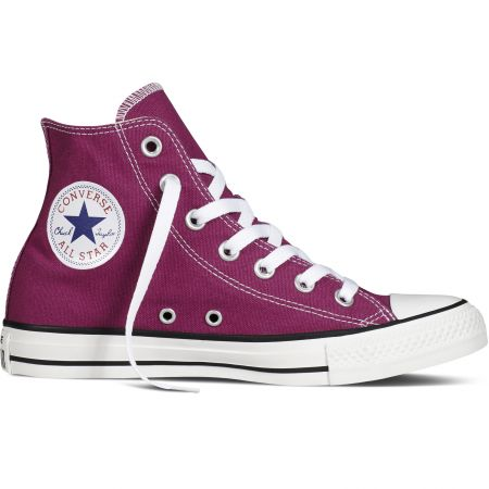 BOTY CONVERSE Chuck Taylor All Star - purpurová