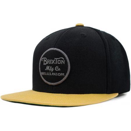 KŠILTOVKA BRIXTON Wheeler Snapback - černá