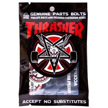 SK8 ŠROUBKY INDEPENDENT Thrasher Phillip - černá
