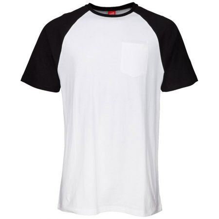 TRIKO SANTA CRUZ Dot Pocket Raglan - bílá