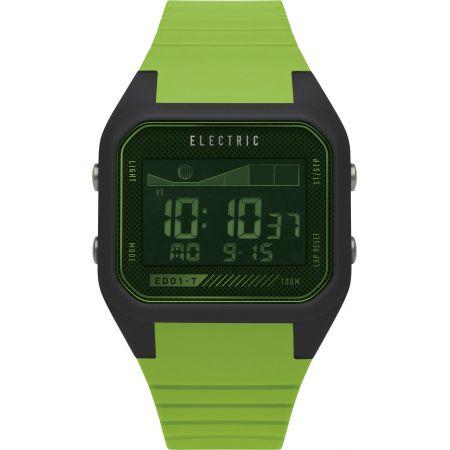 HODINKY ELECTRIC ED01 T PU - zelená