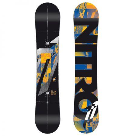 NITRO T1 ZERO WIDE SNOWBOARD - černá