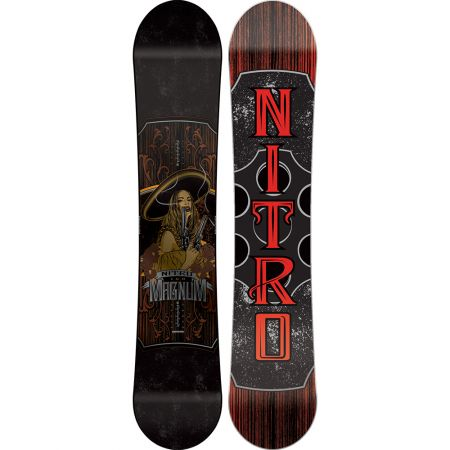 SNOWBOARD NITRO 16 MAGNUM - černá