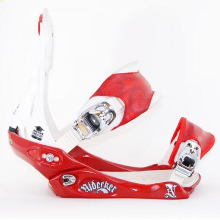NIDECKER CAMPUS SNOWBOARD VAZANI - červená