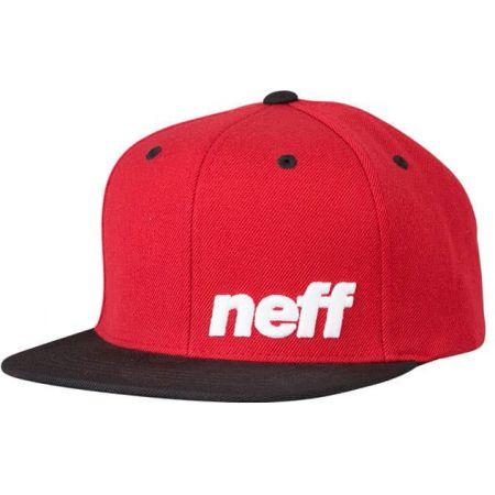 KŠILTOVKA NEFF DAILY CAP - červená