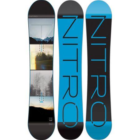 SNOWBOARD NITRO 16 TEAM EXPOSURE - modrá