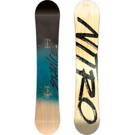 SNOWBOARD NITRO 17 STANCE WIDE - písková
