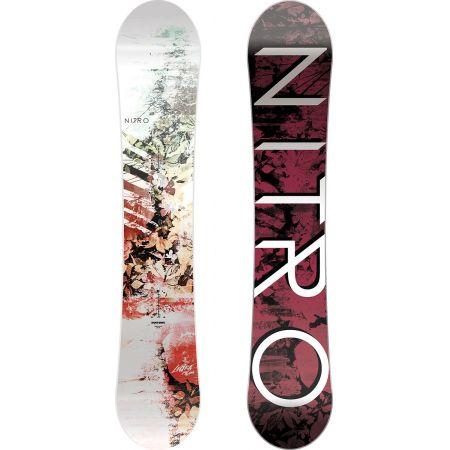 SNOWBOARD NITRO 17 LECTRA WMS - bílá