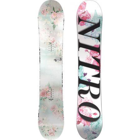 SNOWBOARD NITRO 17 ARIAL WMS - bílá