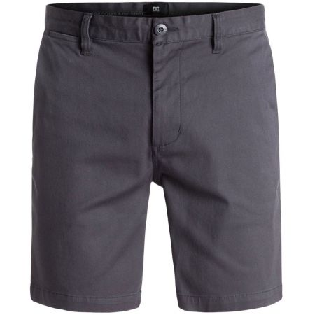 KRATASY DC WORKER SLIM SHORT 17 - antracitová